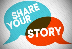 share yur story